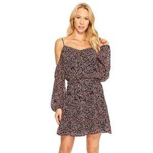 Paige Carmine Floral Dress